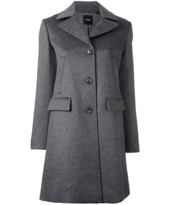 Theory | Nidian Coat Large Rayon/Cashmere
