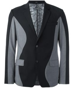 Kenzo | Bicolour Blazer 50 Cotton/Acetate/Mohair/Wool