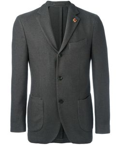 Lardini | Two Button Blazer 54 Polyester/Camel Hair