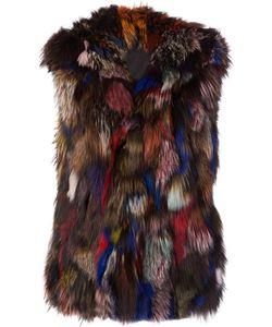 JOCELYN | Fur Gilet Medium Fox Fur