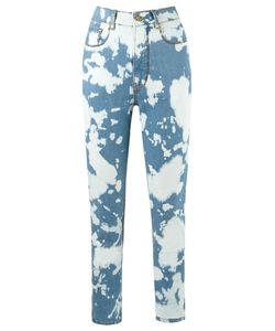 Amapô | High Waisted Skinny Jeans 42 Cotton/Elastodiene