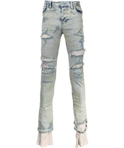 Sub-Age. | Bleached Distressed Jeans 3 Cotton