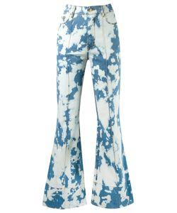 Amapô | High Waist Flared Jeans 38 Cotton/Elastodiene