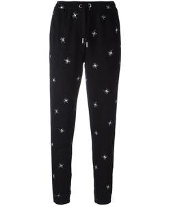 Zoe Karssen | Spider Embroidered Track Pants Xs Polyester/Spandex/Elastane