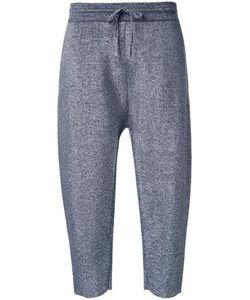 Jil Sander | Cropped Track Pants 38 Polyamide/Polyester/Virgin Wool