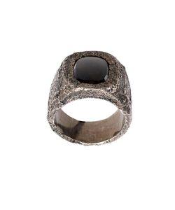 TOBIAS WISTISEN | Leather Stone Ring Adult Unisex 58