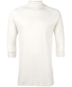 THE WHITE BRIEFS | Turtleneck T-Shirt Medium Organic Cotton