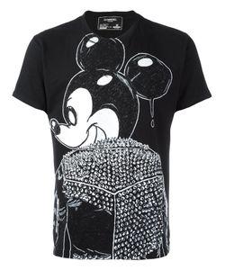 DOM REBEL | Mickey Print T-Shirt Medium Cotton