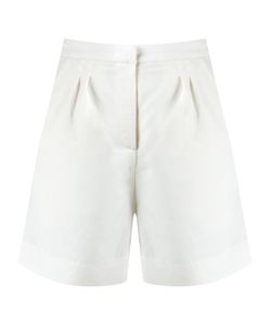 ANDREA MARQUES | Pleated Shorts 36 Linen/Flax/Polyester/Viscose