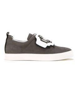 Pierre Hardy | Gem Slider Sneakers 36 Suede