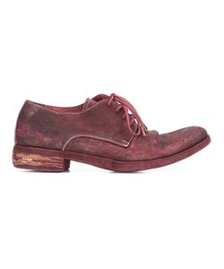 A DICIANNOVEVENTITRE | Peaked Derby Shoes 44 Leather