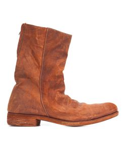 A DICIANNOVEVENTITRE | Double Zipper Boots 43 Leather