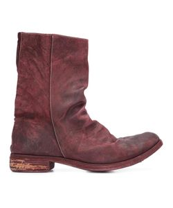 A DICIANNOVEVENTITRE | Peaked Vamp Derby Boots 41 Leather