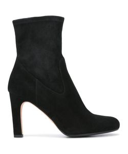 Unützer | Round Toe Ankle Boots 36.5 Suede/Leather/Rubber