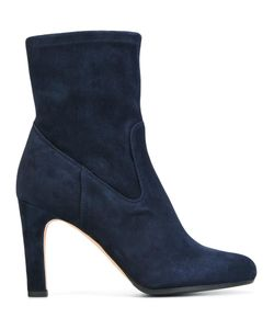Unützer | Round Toe Ankle Boots 38 Leather/Suede