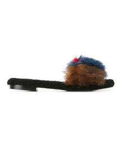 Avec Modération | Kitzbuhel Slippers 40 Artificial Fur/Calf Leather/Sheep