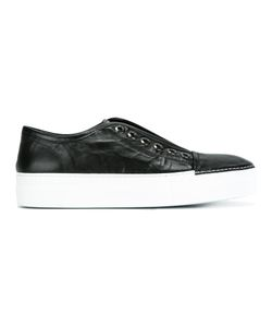 Rocco P. | Platform Slip-On Sneakers 40 Rubber/Leather