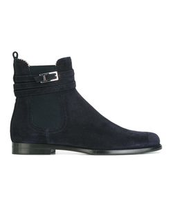 Unützer | Buckled Detailing Chelsea Boots 36 Leather/Suede/Rubber