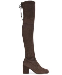 Stuart Weitzman | Tieland Boots 36 Chamois Leather/Nylon/Rubber