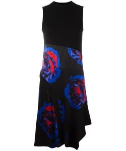 DKNY | Print Dress 8 Viscose/Merino
