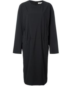 Jil Sander | Tucked Effect Dress 38 Polyamide/Spandex/Elastane
