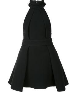 Brandon Maxwell | Pleated Skirt Dress 2 Spandex/Elastane/Acetate/Viscose