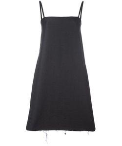CHARLIE MAY | Square Neck Dress 8 Nylon/Cotton