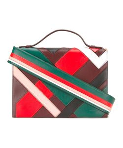 Emilio Pucci | Striped Shoulder Strap Bag
