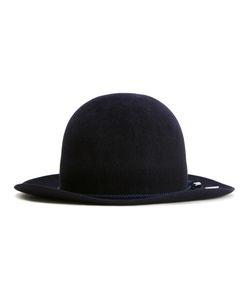 KIJIMA TAKAYUKI   Bowler Pleated Trim Hat 61 Rabbit