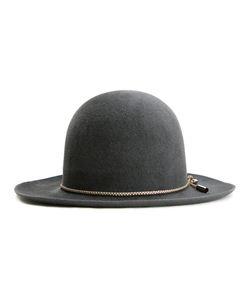 KIJIMA TAKAYUKI | Bowler Chain Trim Hat 59 Rabbit