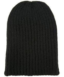 KIJIMA TAKAYUKI | Oversize Ribbed Knit Hat Alpaca