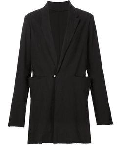 MA+ | Long Blazer 48 Cotton/Linen/Flax/Spandex/Elastane