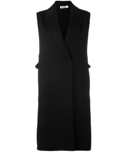 Jil Sander | Sleeveless Coat 40 Virgin Wool/Cashmere