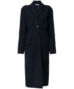 Jil Sander | Single Breasted Coat 36 Wool