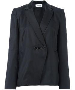 Courreges | Courrèges Three Button Blazer 36 Wool/Cotton/Polyurethane/Cupro