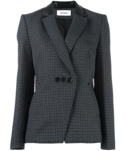 Courreges | Courrèges Houndstooth Blazer 40 Wool/Cotton/Polyurethane/Cupro