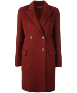 Loro Piana | Double Breasted Coat 38 Cashmere/Polyester/Lamb Skin