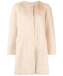 Simonetta Ravizza | Luxord Coat 42 Mink Fur/Wool/Viscose/Polyamide