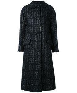 Simone Rocha | Tweed Long Coat 6 Acrylic/Nylon/Polyester/Wool