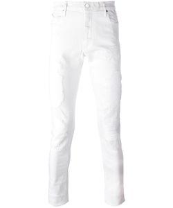 ROAD TO AWE | Distressed Slim Fit Jeans 31