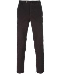 Pt01 | Slim-Fit Trousers 46 Cotton/Spandex/Elastane/Virgin Wool
