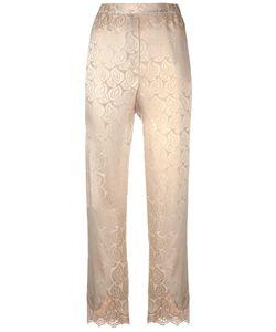 Erika Cavallini | Dione Trousers 42 Cotton/Polyamide/Silk
