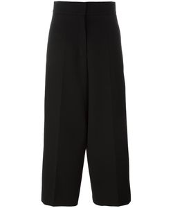 Jil Sander | Cropped Palazzo Pants 38 Wool/Cotton