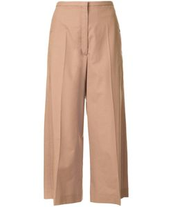 LEMAIRE | Cropped Trousers 36 Polyamide/Polyurethane/Wool