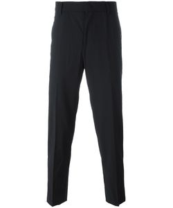 JUUN.J | Pleated Tapered Trousers 46 Nylon/Polyester/Polyurethane/Wool