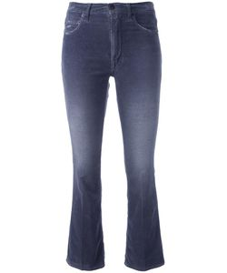 +people | Cropped Flared Jeans 27 Cotton/Spandex/Elastane
