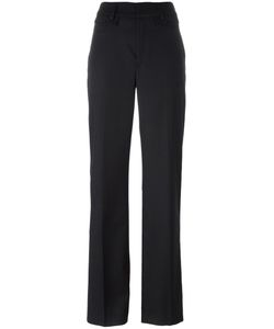 Dondup | Loose-Fit Flared Trousers 42 Acetate/Viscose/Virgin Wool/Spandex/Elastane