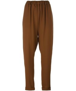 Lucio Vanotti | Elasticated Tapered Trousers 1 Virgin Wool/Polyester/Spandex/Elastane
