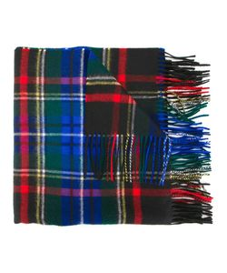 Johnstons | Tartan Stoles Recolored Stewart Scarf Cashmere
