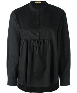 Peter Jensen | Pleated Blouse Small Cotton
